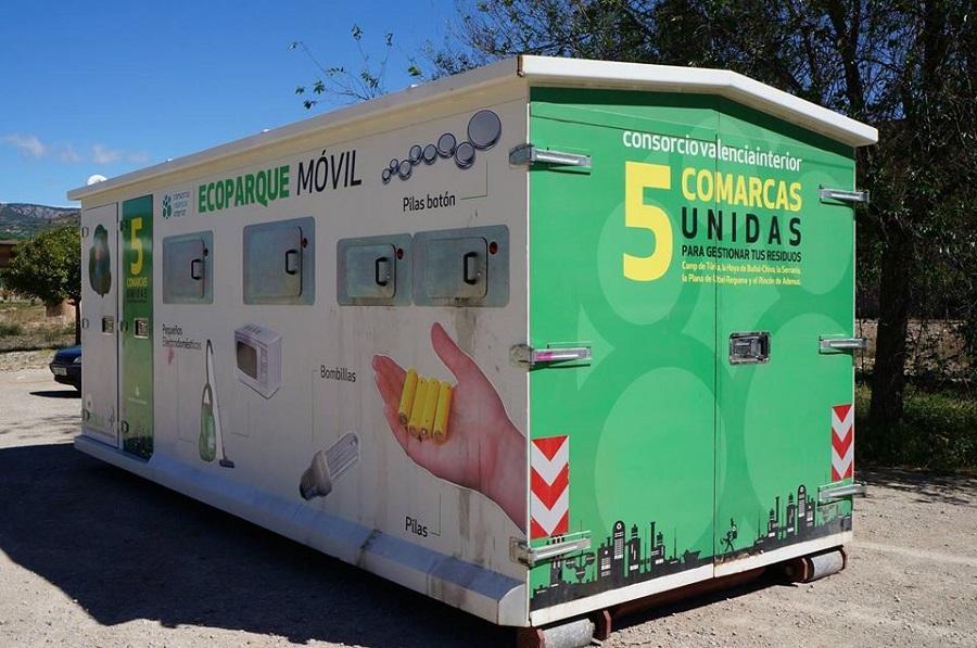 CVI mejora tasas de reciclaje bonificando el uso de puntos limpios