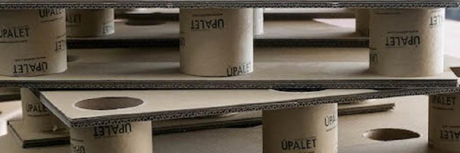 Alpesa presentará en el mercado norteamericano un palé de cartón reciclado