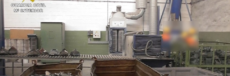 Investigan una empresa de reciclaje por la gestión irregular de toneladas de residuos peligrosos en Bizkaia