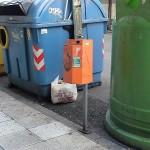 Vitoria inicia una campaña para evitar el uso inadecuado de los contenedores de residuos