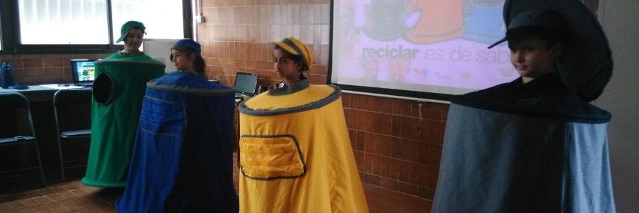 Nuevo impulso al reciclaje en los colegios