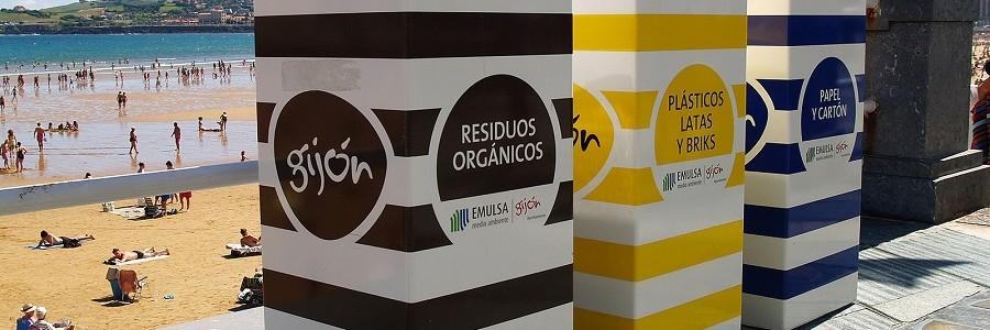 Abierto a participación pública el borrador del Plan Municipal de Gestión de Residuos de Gijón