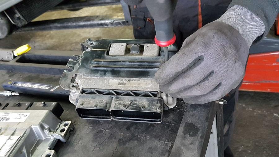 BalidECU, recuperación de componentes de vehículos usados