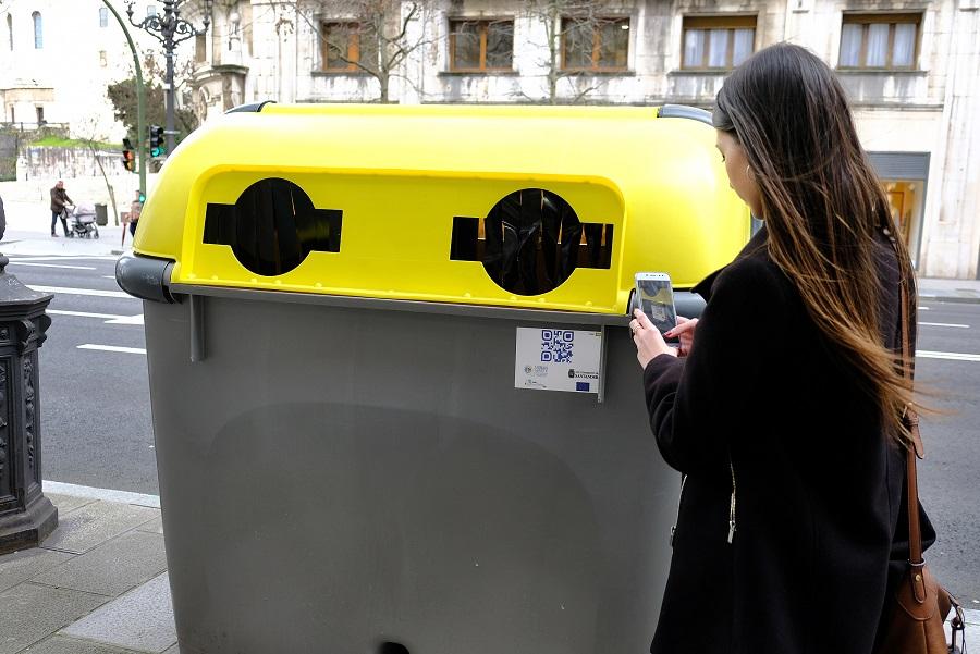 Santander usará una app para fomentar el reciclaje