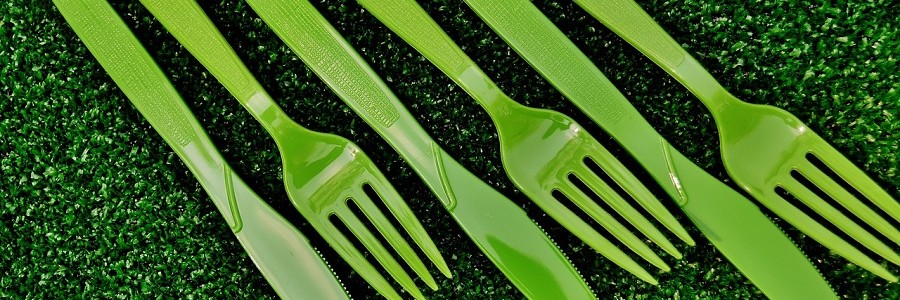 Nuevos materiales compostables para fabricar vajillas, envases y bolsas de un solo uso
