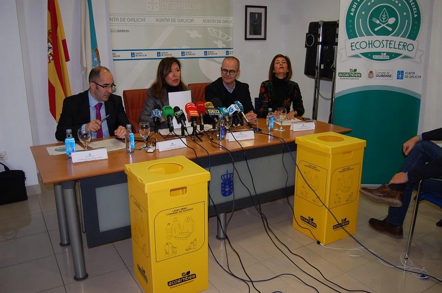 Nuevo impulso al reciclaje en la hostelería gallega