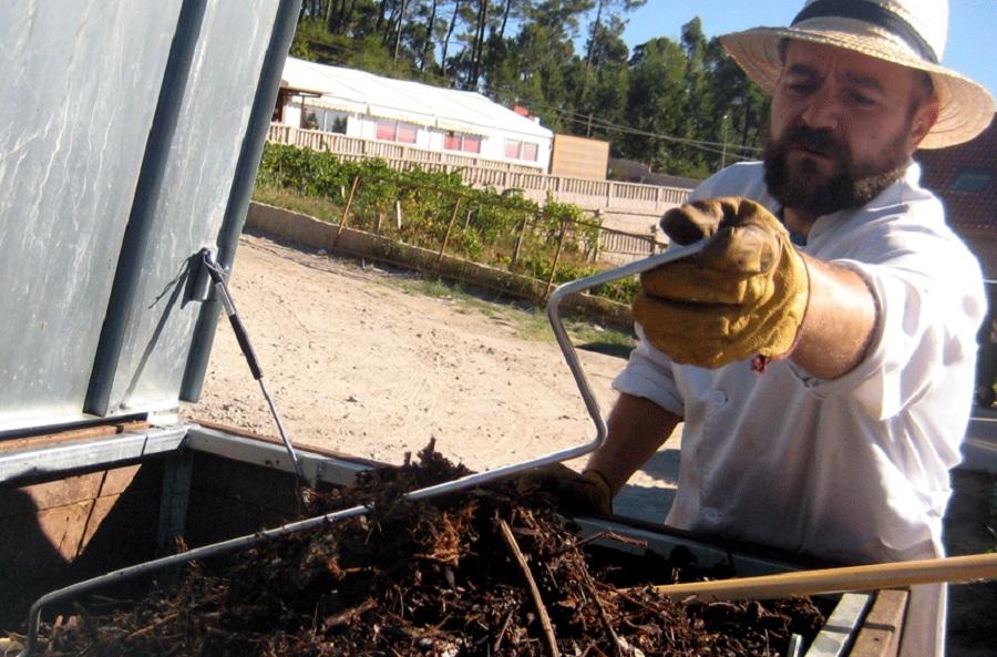 El proyecto Revitaliza fomenta el autocompostaje en Pontevedra