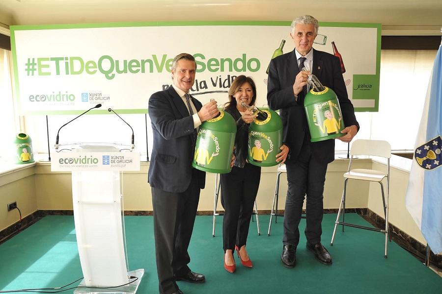 Nueva campaña de Ecovidrio y la Xunta para impulsar el reciclaje de vidrio