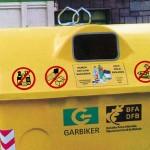 Bizkaia instala sensores en los contenedores de envases de seis municipios