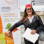 AMBILAMP promueve el reciclaje de lámparas en el Día del Niño organizado por el Atlético de Madrid