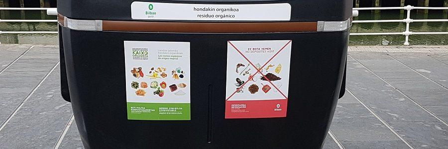 Bilbao extiende la recogida de materia orgánica a toda la ciudad