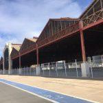 Economía circular en el desmantelamiento de los boxes de la Fórmula 1 de Valencia