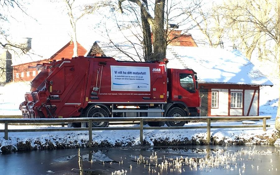 Camión de recogida de residuos de RenoNorden, comprada por Urbaser