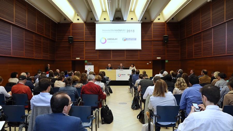 Presentación del diagnóstico economía circular en la industria vasca