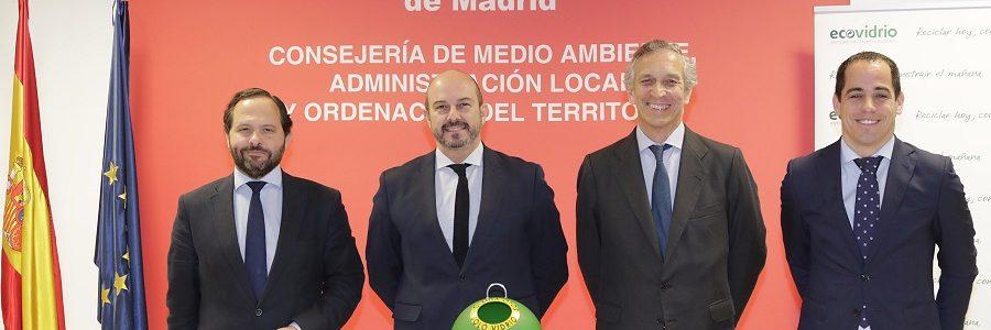 La Comunidad de Madrid recicló 87.000 toneladas de vidrio en 2017