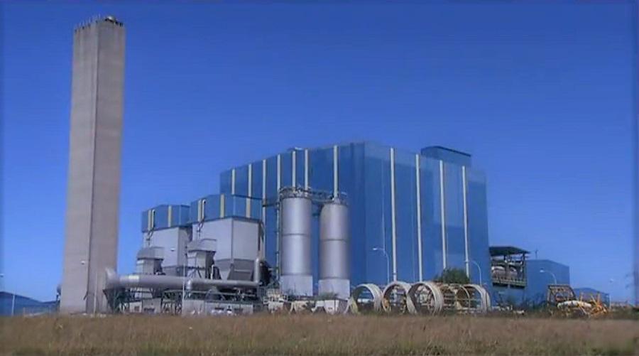 Vista parcial del complejo ambiental de Sogama