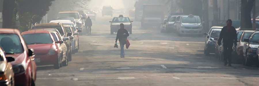 El 90% de la población mundial respira aire contaminado
