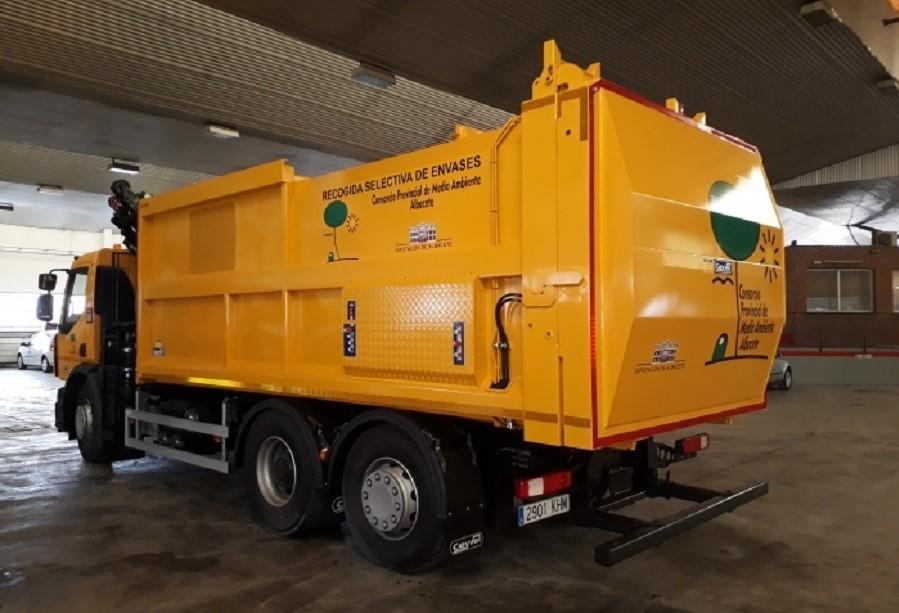 Una app para mejorar el servicio de recogida de residuos en la provincia de Albacete