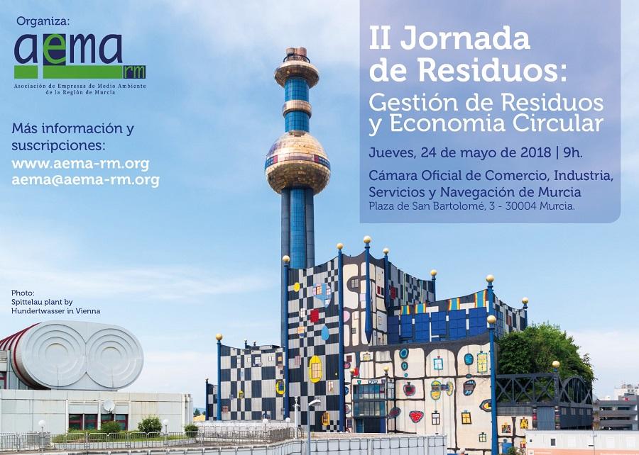 Jornada residuos y economía circular en Murcia 2018