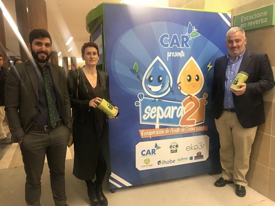 Presentación de la campaña para la recogida de aceite usado en Cundinamarca (Colombia)