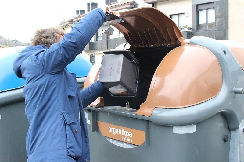 Aumenta la tasa d eseparación de residuos en Urola kosta
