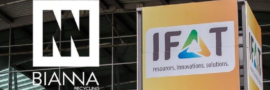 Bianna Recycling presentará en IFAT 2018 sus soluciones para la eficiencia de plantas de reciclaje