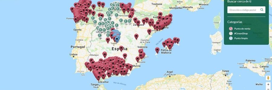 Ecolec lanza un buscador online de puntos de recogida de residuos electrónicos en toda España
