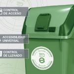 Contenur fabricará sus contenedores de residuos bajo criterios de economía circular