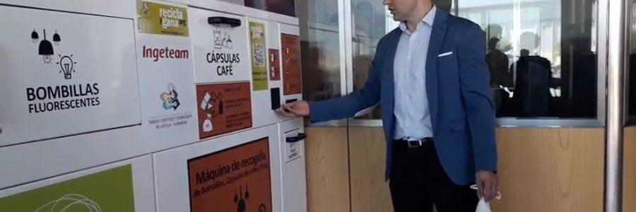 El Parque Científico de Castilla-La Mancha instala una máquina para la gestión de residuos domésticos contaminantes