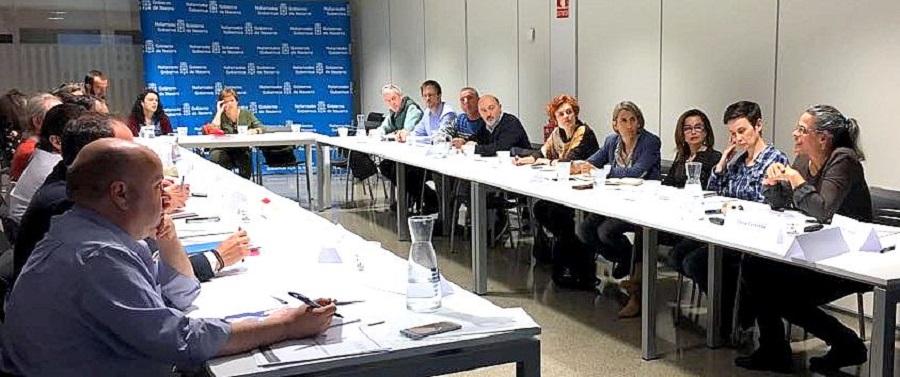 Mesa de trabajo sobre desperdicio alimentario de Navarra