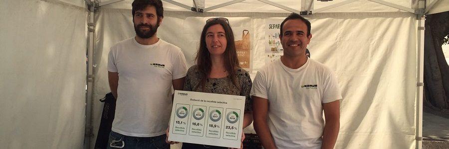 Palma logra su récord de recogida selectiva de residuos con un 23,5%