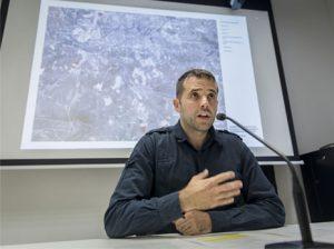 El presidente de la Mancomunidad de la Comarca de Pamplona, Aritz Ayesa