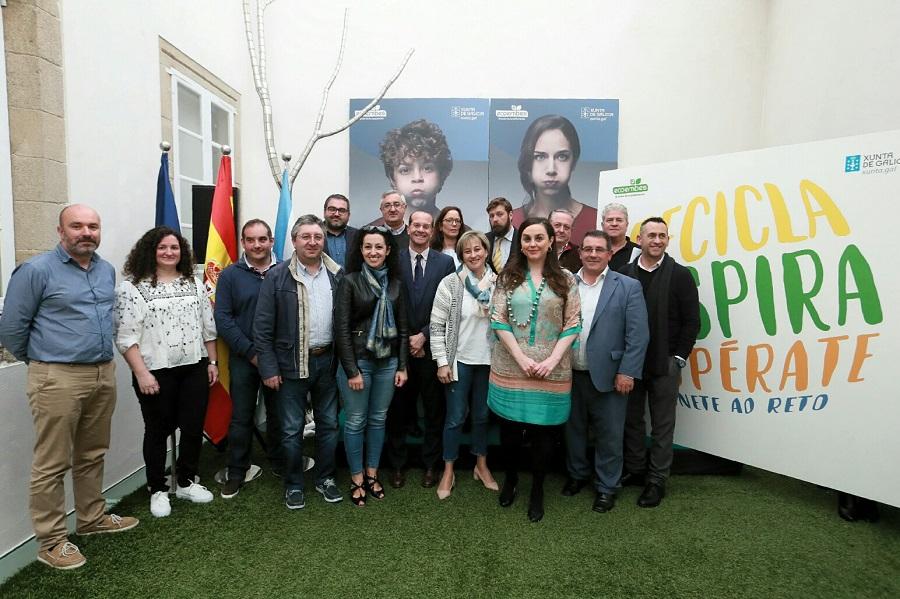 Presentación de la nueva campaña de reciclaje de envases en Galicia