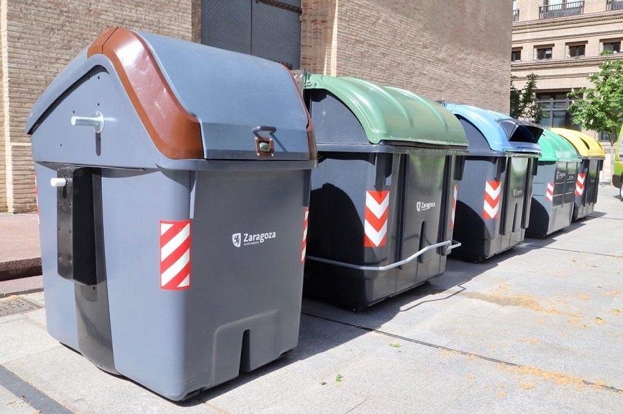 Zaragoza ensayará la recogida de orgánica con el quinto contenedor y el puerta a puerta