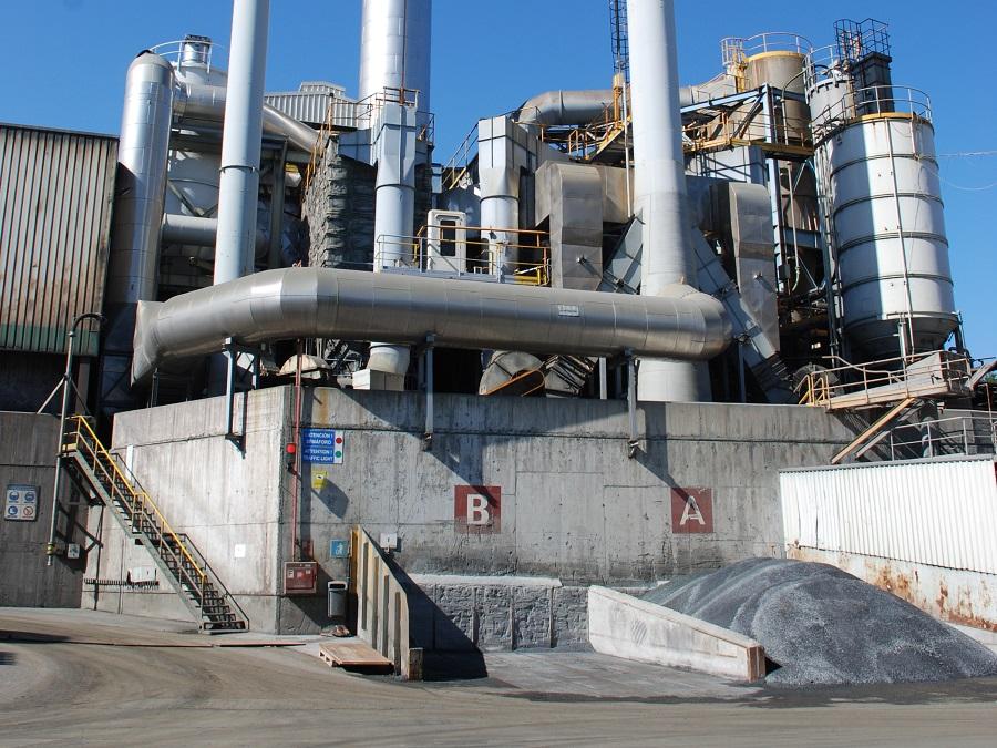 Instalaciones de la empresa de reciclaje Metallo Spain
