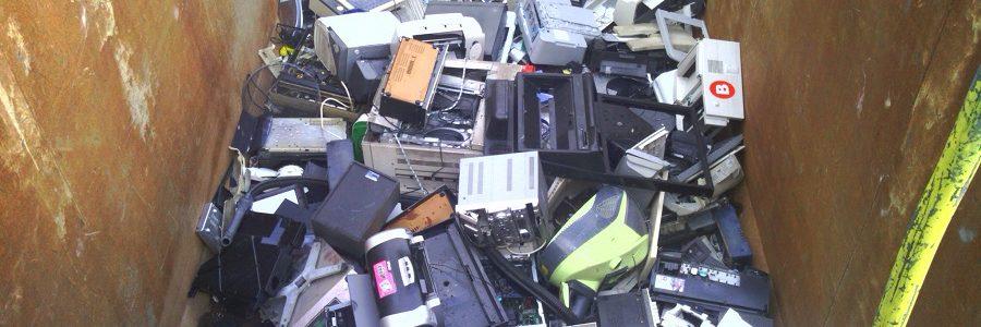 Convenio para el reciclaje de residuos electrónicos en Bizkaia