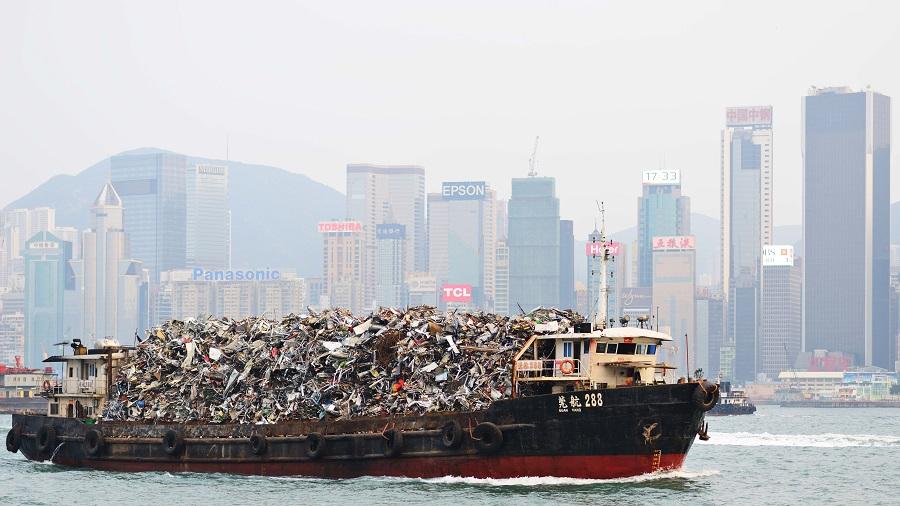 un e-book como guía para cumplir la normativa china de importación de residuos