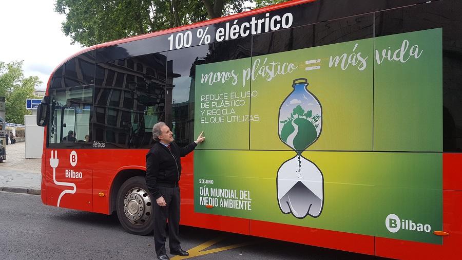 Campaña en Bilbao contra el uso de plásticos