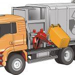 Zaragoza prueba un camión híbrido de recogida de residuos