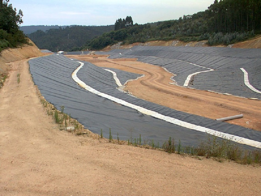 Vertedero de residuos peligrosos de Cogersa en Asturias