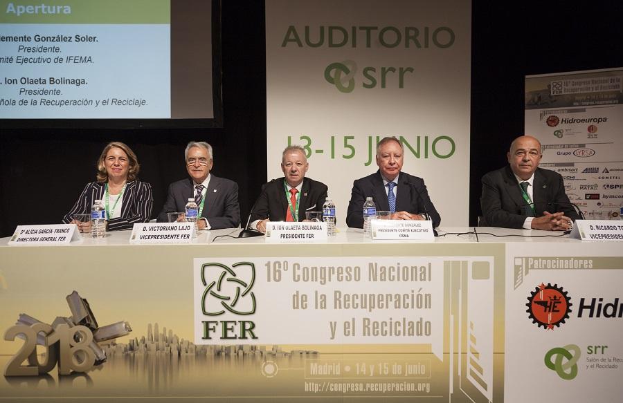 Congreso de la Federación Española de la Recuperación y el Reciclaje (FER)