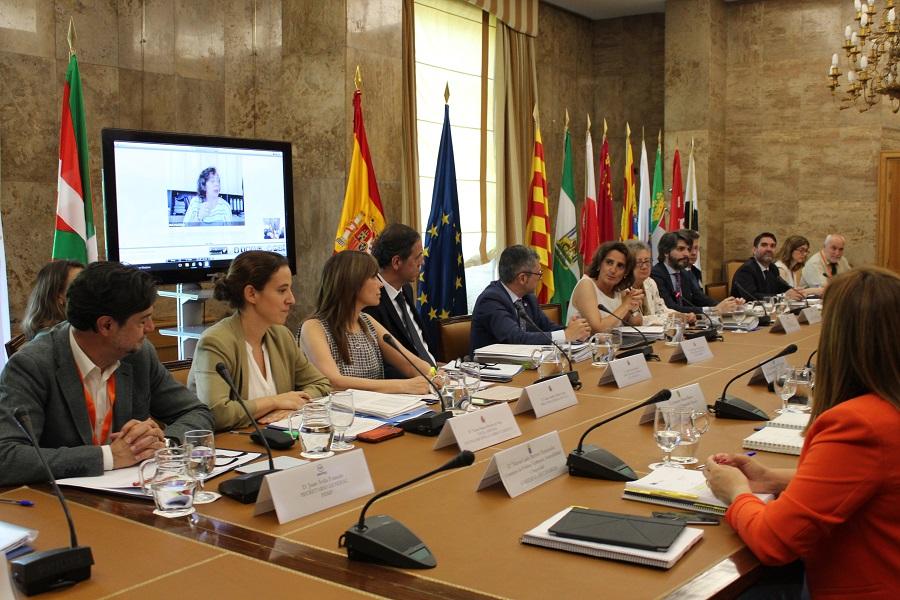 Teresa Ribera presidió el primer consejo consultivo del Ministerio para la Transición Ecológica