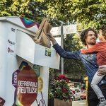 Koopera instala 13 nuevos contenedores de reutilización en Bilbao