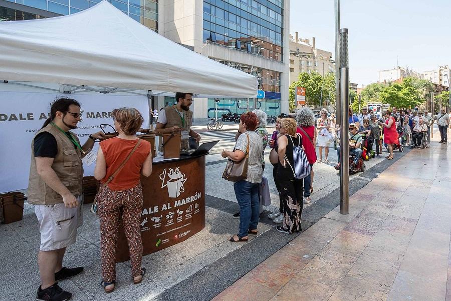 Zaragoza inicia la prueba de recogida selectiva de materia orgánica
