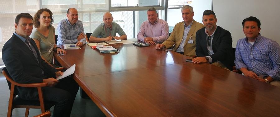 Reunión de Asegre con el director general de cambio climático y Calidad Ambiental de la Generalitat Valenciana