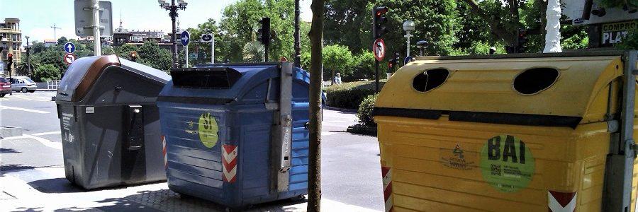 San Sebastián es la ciudad con la tasa de basuras más alta