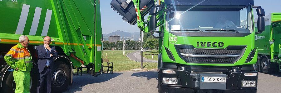 Bilbao incorpora nuevos vehículos de última generación a su flota de recogida de residuos
