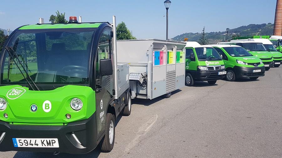Nuevos vehículos de limpieza viaria en Bilbao