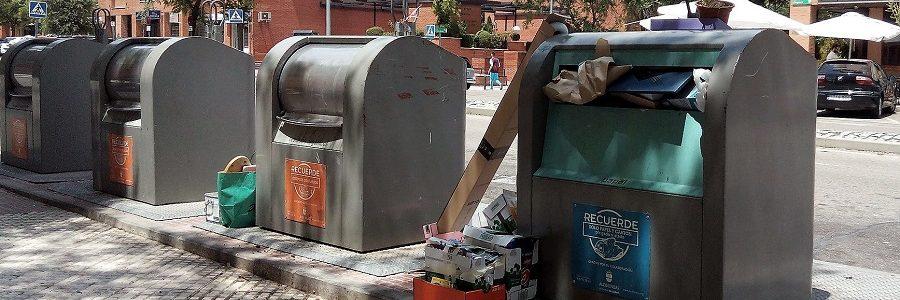 Las actuales tasas de residuos en España no contribuyen a lograr los objetivos europeos de reciclaje