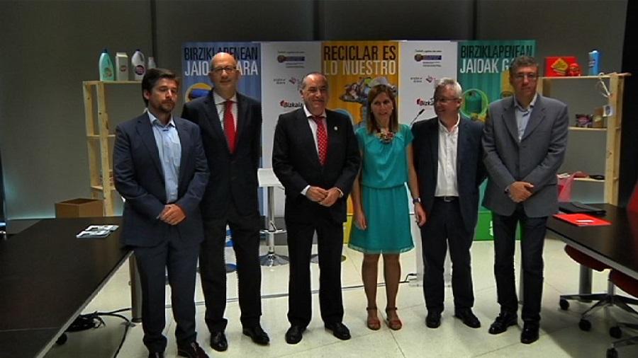 Nueva campaña en Euskadi para fomentar el reciclaje doméstico